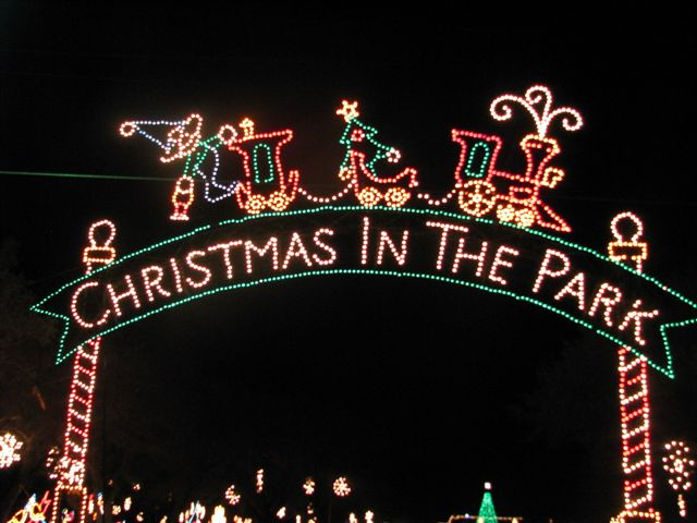 Christmas in the Park Archway